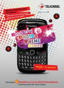 Telkomsel Blackberry Photo & Theme Contents