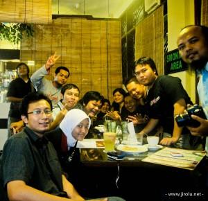 Kopdar Malang di Cafe Illy