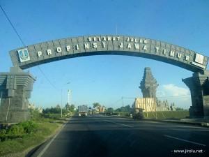 Gerbang Batas Propinsi Jawa Timur