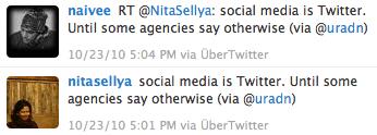 Social Media is Twitter