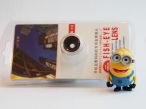 One of my minions with the Fish Eye Lens