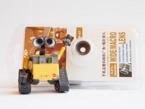 Wall-E and Wide/Macro Lens