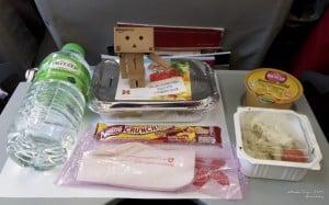 Menu sarapan di AirAsia *nyam*