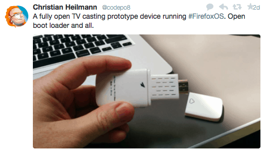 tweet dari Chris Heilmann, Mozilla Developer Evangelist