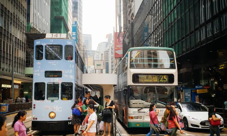 Hannesy Rd always my fave, because of these trams :) Couple times to HK but never had a chance to ride it :(